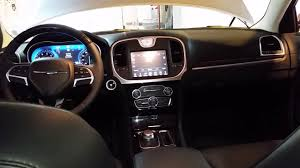chrysler 300c 2016 interior 2017 chrysler 300 sedan quick interior tour youtube