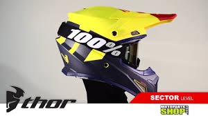 thor motocross helmet thor sector helmet youtube