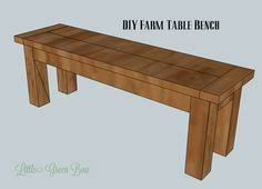DIY Dining Table Bench Plans Our Home Kitchen  Pantry - Kitchen table bench