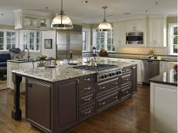 kitchen fancy kitchen island with stove ideas cooktop kitchen
