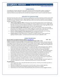 regional manager resume examples regional operations manager