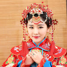 traditional hair accessories wen ming traditional wedding hair tiaras for xiuhefu