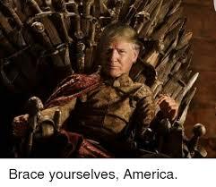 Brace Yourself Meme - brace yourselves america meme on esmemes com
