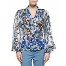 designer kleidung sale sale weiss grau damen hemd lange aermel goldene knoepfe luxus