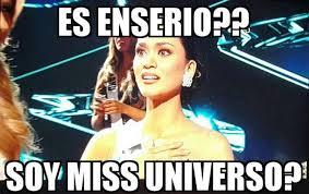 Miss Meme - mira aqu祗 los memes de la equivocaci祿n en miss universo 2015 la