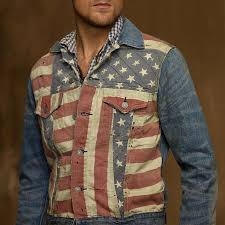 American Flag Hoodies For Men American Flag Denim Jacket Ebay