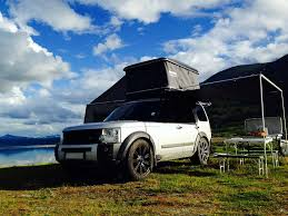 land rover discovery expedition discovery 3 with prospeed rack and roof tent land rovers jeep