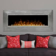 dimplex ashmead 52 inch wall mount electric fireplace antique