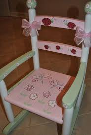 painted rocking chairs