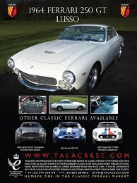 ferrari talacrest classic cars magazine beautiful dream cars