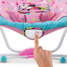 Minnie Mouse Toddler Chair Minnie Mouse Peekaboo Infant To Toddler Rocker