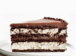 chocolate hazelnut icebox cake recipe food network kitchen