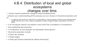 big idea 4 biological systems interact and these systems and