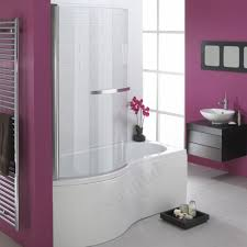 buy the essential hampstead p shape shower bath pack 1700x900mm