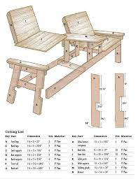 Free Plans For Patio Chairs by Diy Outdoor Patio Furniture Ideas U0026 Instructions Chair Bench