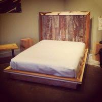 High Platform Beds Furniture White Iron High Platform Bed Frame With Curved Base