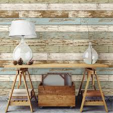 Best Peel And Stick Wallpaper by Nuwallpaper Old Salem Vintage Wood Peel U0026 Stick Wallpaper Blue