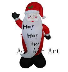 fashionlite 6m christmas xmas inflatable santa claus lighted blow