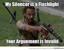 Walking Meme - the walking dead meme your arguement is invalid by