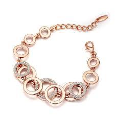 bracelet women images Rose gold chain bracelet for women rose gold jewelry jpg