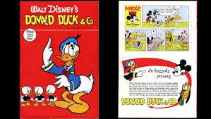 norway u0027s donald duck comic book sold 18 560 dollars