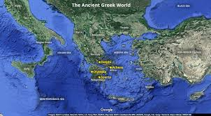 Realistic Map Of The World by Ancient Greece An Introduction Article Khan Academy