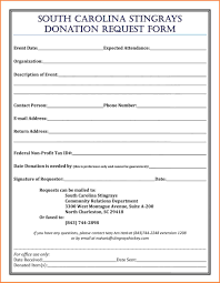 donation request form template 100 images donation letters