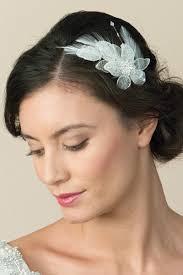 serre tãªte mariage diadème lilly avec une fleur garnie de pierres de cristal