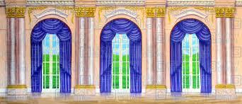 palace interiors ornate palace interior projected backdrops grosh digital