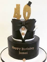 black and gold cake for a man u0027s 60th birthday cakes