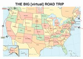 Canada Road Trip Map by Start Spreading The News U2026