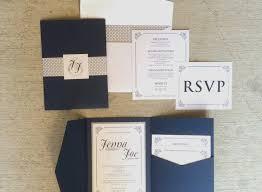 pocket wedding invitations pocket wedding invitation kits navy blue wedding