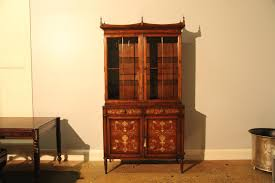 Narrow Oak Bookcase by China Cabinet Small Chinatst Staggering Image Concept