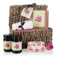 Pamper Gift Basket Fikkerts Rose Gift Basket Pamper Hamper