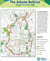 Marta Atlanta Map Atlanta Beltline Maplets