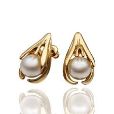 gold earring studs designs pearl stud earrings and more fashion jewelry sale online shop