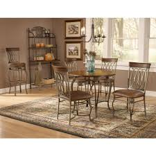 five piece dining room sets hillsdale furniture montello 5 piece old steel dining set