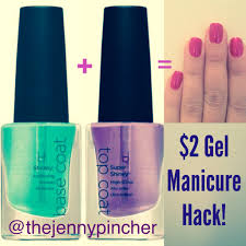 diy gel manicure hack for 2