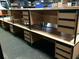 Used Office Desks Uk Office Furniture Reception Desk Tickets Football Co
