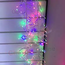 280 led 2 4m garland tree lights pastel multicoloured