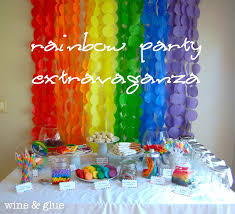 interior design top rainbow themed birthday party decorations