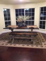 Buy Farmhouse Table Rustic Fancy X Farmhouse Table And Bench For Sale In San Antonio