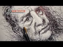technique pour dessiner au stylo librement youtube