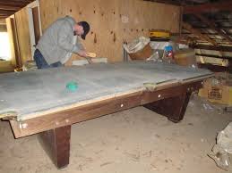Gandy Pool Table Prices by W E M Distributors Before U0026 After 1 Of 2