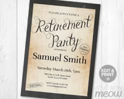 retirement announcement retirement invitation list retired invite instan