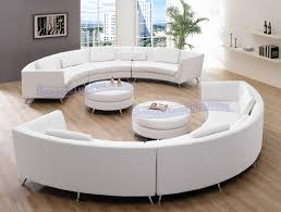 Curved White Sofa by Modern Line Furniture Commercial Furniture Custom Made