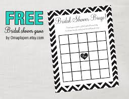 photo free printable bridal shower games image
