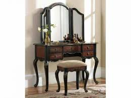 Antique Vanity Table With Mirror And Bench with Bench Vanity With Bench And Mirror If You Try Vanity Table Or