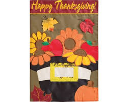 thanksgiving flags banners