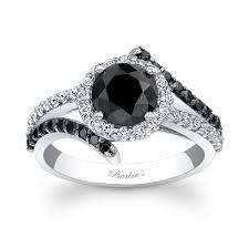 white and black diamond engagement rings barkev s black diamond engagement ring bc 7857lbkw
